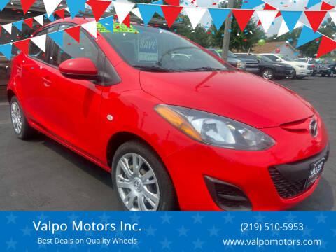 2014 Mazda MAZDA2 for sale at Valpo Motors Inc. in Valparaiso IN
