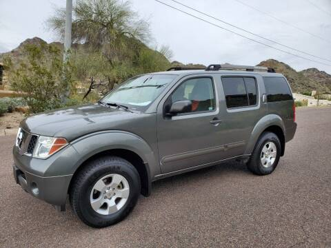 2006 Nissan Pathfinder for sale at BUY RIGHT AUTO SALES in Phoenix AZ