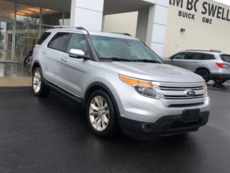 2013 Ford Explorer for sale at DON BAILEY AUTO SALES in Phenix City AL