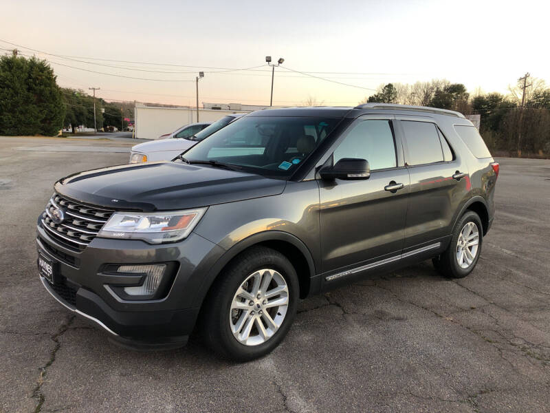 2017 Ford Explorer for sale at Haynes Auto Sales Inc in Anderson SC