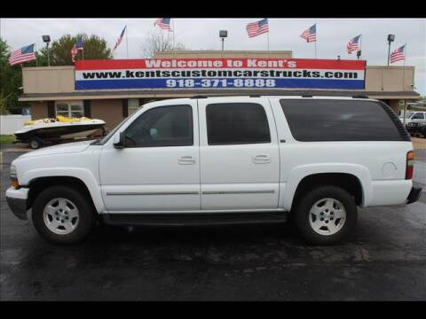 2004 Chevrolet Suburban for sale at Kents Custom Cars and Trucks in Collinsville OK
