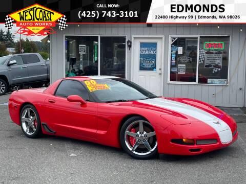 2000 Chevrolet Corvette for sale at West Coast Auto Works in Edmonds WA
