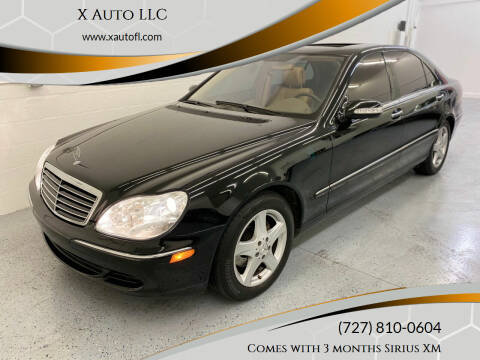 2005 Mercedes-Benz S-Class for sale at X Auto LLC in Pinellas Park FL