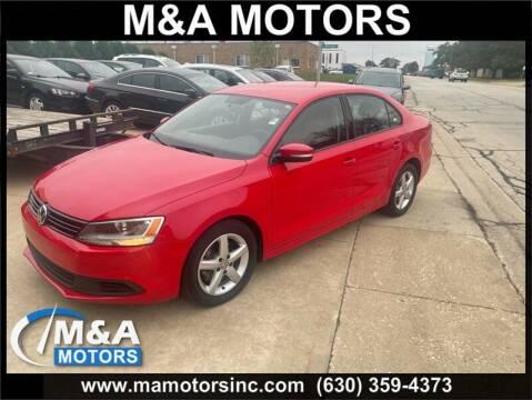 2011 Volkswagen Jetta for sale at M & A Motors in Addison IL
