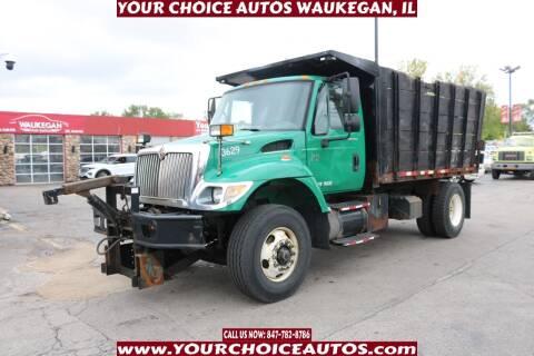 2006 International WorkStar 7400 for sale at Your Choice Autos - Waukegan in Waukegan IL