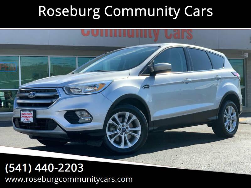 2017 Ford Escape for sale at Roseburg Community Cars in Roseburg OR