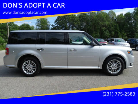 2016 Ford Flex for sale at DON'S ADOPT A CAR in Cadillac MI