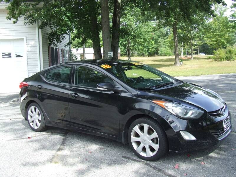 2013 Hyundai Elantra for sale at DUVAL AUTO SALES in Turner ME