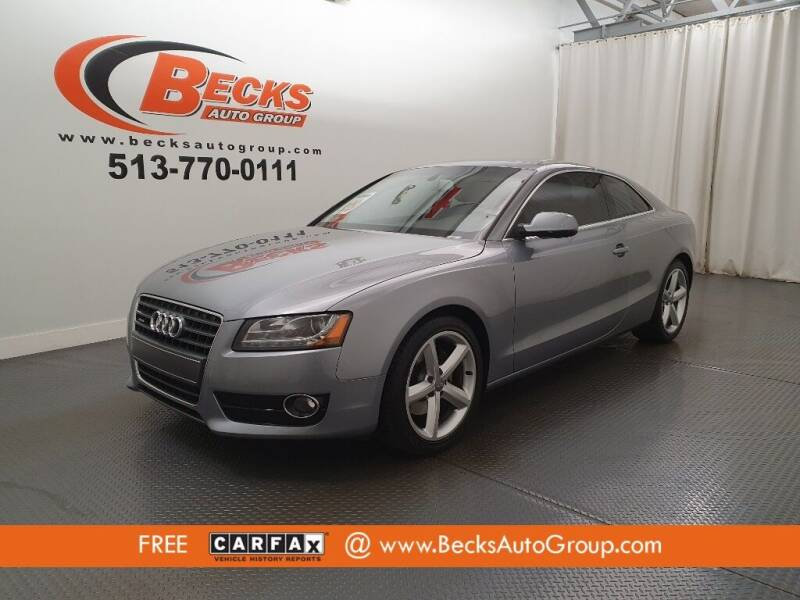 2010 Audi A5 for sale at Becks Auto Group in Mason OH