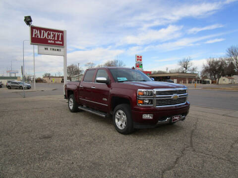 2015 Chevrolet Silverado 1500 for sale at Padgett Auto Sales in Aberdeen SD