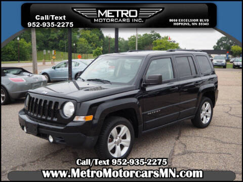 2012 Jeep Patriot for sale at Metro Motorcars Inc in Hopkins MN