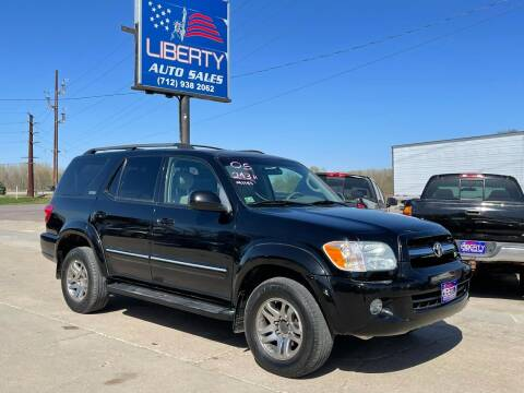 2006 Toyota Sequoia for sale at Liberty Auto Sales in Merrill IA