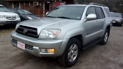 2005 Toyota 4Runner for sale at Select Cars Of Thornburg in Fredericksburg VA