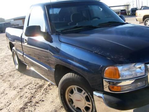 2002 GMC Sierra 1500 for sale at BENHAM AUTO INC in Lubbock TX