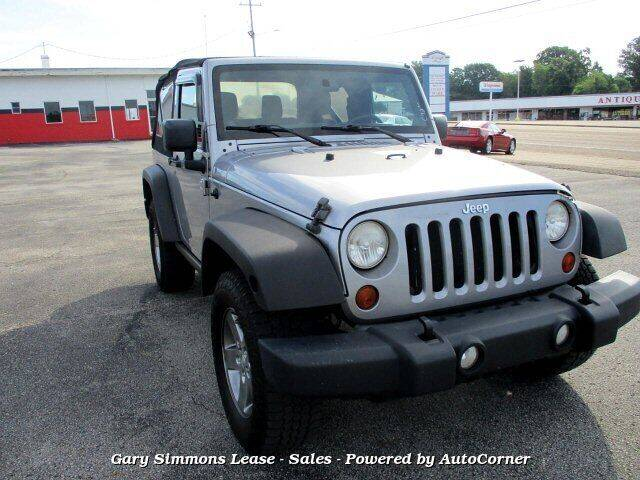 2013 Jeep Wrangler for sale at Gary Simmons Lease - Sales in Mckenzie TN
