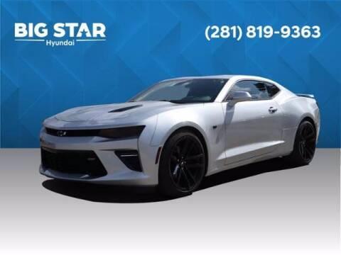 2018 Chevrolet Camaro for sale at BIG STAR HYUNDAI in Houston TX