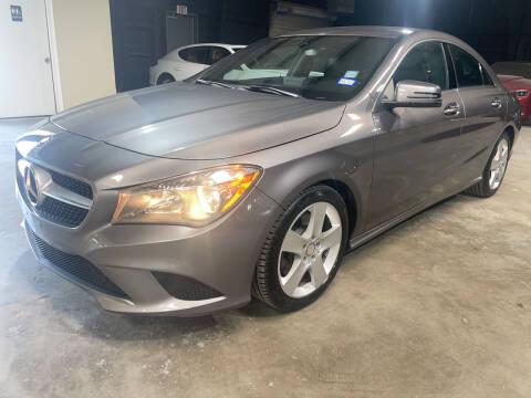 2015 Mercedes-Benz CLA for sale at Safe Trip Auto Sales in Dallas TX