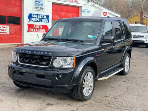 2011 Land Rover LR4 for sale at Milford Automall Sales and Service in Bellingham MA