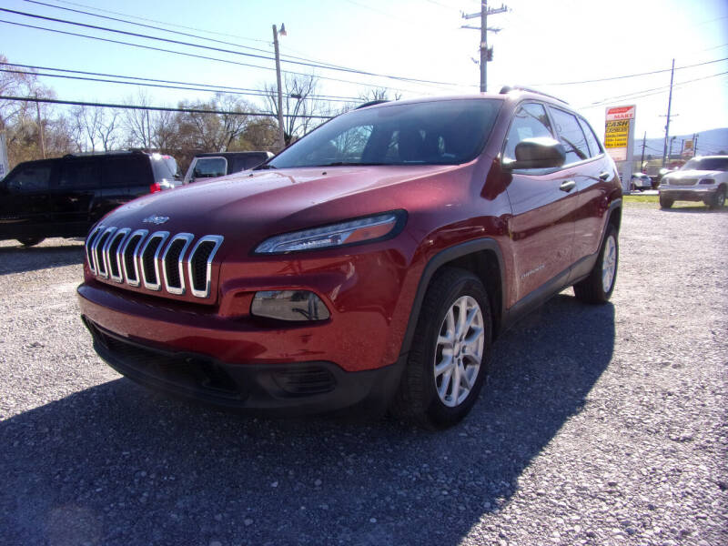 2016 Jeep Cherokee for sale at RAY'S AUTO SALES INC in Jacksboro TN