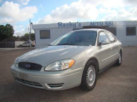 2007 Ford Taurus for sale at Rocky's Auto Sales in Corpus Christi TX