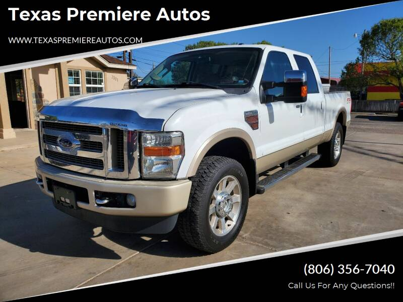 2010 Ford F-250 Super Duty for sale at Texas Premiere Autos in Amarillo TX