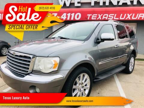 2007 Chrysler Aspen for sale at Texas Luxury Auto in Cedar Hill TX