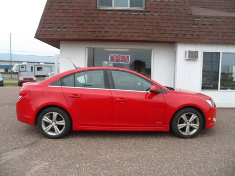 2012 Chevrolet Cruze for sale at Paul Oman's Westside Auto Sales in Chippewa Falls WI