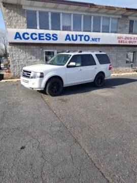 2013 Ford Expedition for sale at Access Auto in Salt Lake City UT