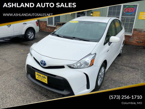 2017 Toyota Prius v for sale at ASHLAND AUTO SALES in Columbia MO