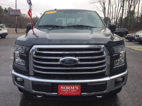2015 Ford F-150 for sale at NORM'S USED CARS INC - Trucks By Norm's in Wiscasset ME