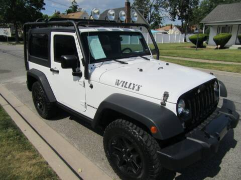 2015 Jeep Wrangler for sale at First Choice Automobile in Uniondale NY