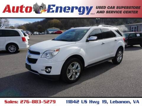 2014 Chevrolet Equinox for sale at Auto Energy in Lebanon VA