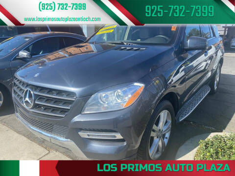 2014 Mercedes-Benz M-Class for sale at Los Primos Auto Plaza in Antioch CA