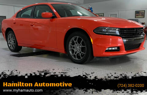 2017 Dodge Charger for sale at Hamilton Automotive in North Huntingdon PA