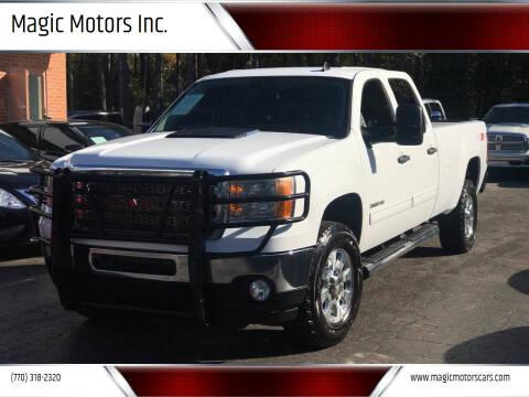 2013 GMC Sierra 2500HD for sale at Magic Motors Inc. in Snellville GA