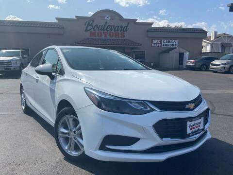 2018 Chevrolet Cruze for sale at Boulevard Motors in St George UT