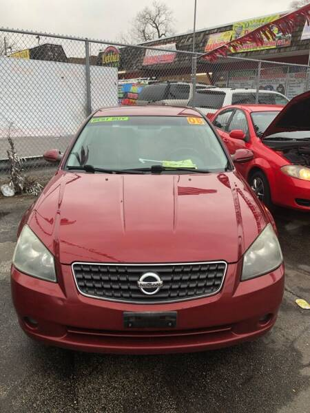 2005 Nissan Altima for sale at One Stop Auto Sales in Midlothian IL