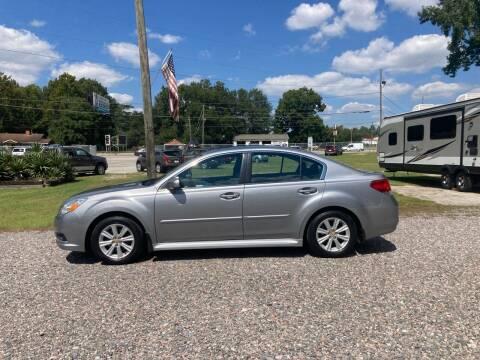 2011 Subaru Legacy for sale at Joye & Company INC, in Augusta GA