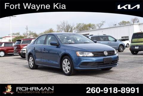 2017 Volkswagen Jetta for sale at BOB ROHRMAN FORT WAYNE TOYOTA in Fort Wayne IN