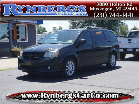 2012 Dodge Grand Caravan for sale at Rynbergs Car Co in Muskegon MI