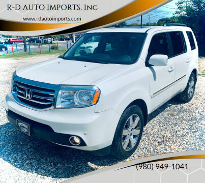 2014 Honda Pilot for sale at R-D AUTO IMPORTS, Inc in Charlotte NC