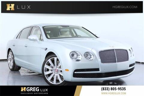 2016 Bentley Flying Spur for sale at HGREG LUX EXCLUSIVE MOTORCARS in Pompano Beach FL