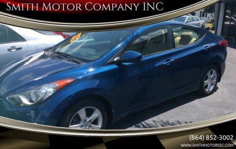 2013 Hyundai Elantra for sale at Smith Motor Company INC in Mc Cormick SC
