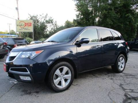 2013 Acura MDX for sale at AUTO STOP INC. in Pelham NH