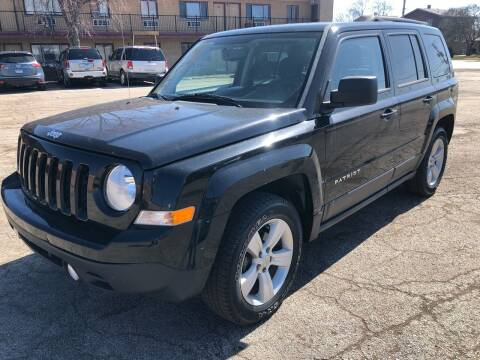 2014 Jeep Patriot for sale at TOP YIN MOTORS in Mount Prospect IL