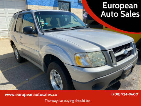 2003 Ford Explorer Sport for sale at European Auto Sales in Bridgeview IL