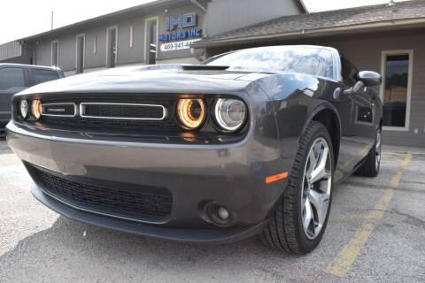 2016 Dodge Challenger for sale at IMD Motors in Richardson TX