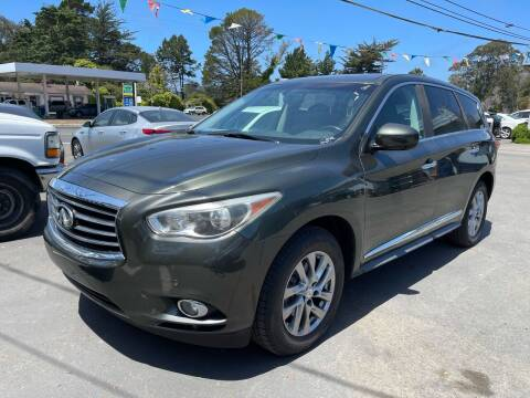 2013 Infiniti JX35 for sale at HARE CREEK AUTOMOTIVE in Fort Bragg CA