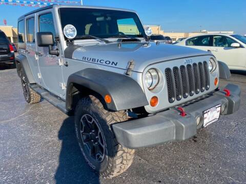 2012 Jeep Wrangler Unlimited for sale at VIP Auto Sales & Service in Franklin OH