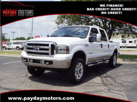 2006 Ford F-250 Super Duty for sale at Payday Motors in Wichita KS